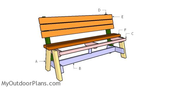 Building a 5 ft bench