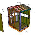 5×6 Deer Blind Roof Plans