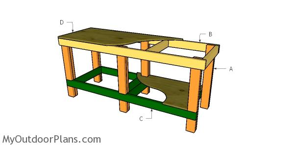 Building a 6 ft workbench