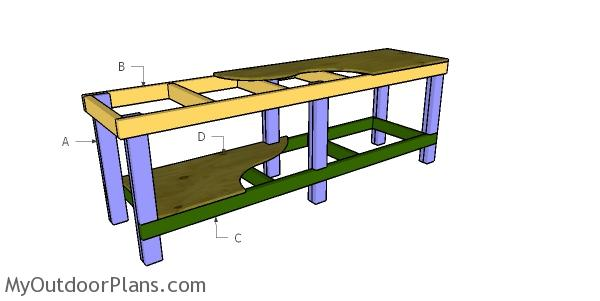 Building a 8 ft workbench