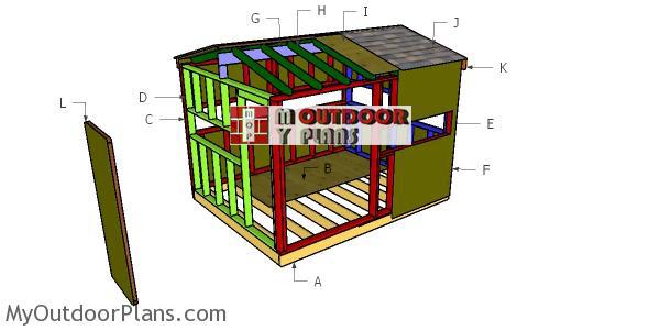 Building-a-8x10-deer-blind
