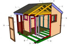 8×8 Playhouse Roof Plans