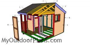 Building a 8x8 playhouse