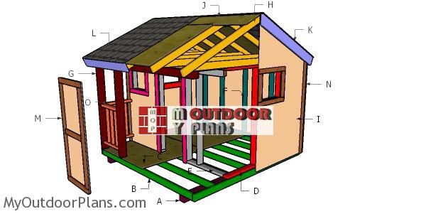 Building-a-8x8-playhouse