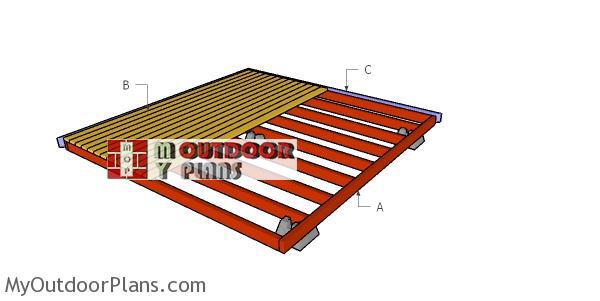 Building-a-ground-level-deck