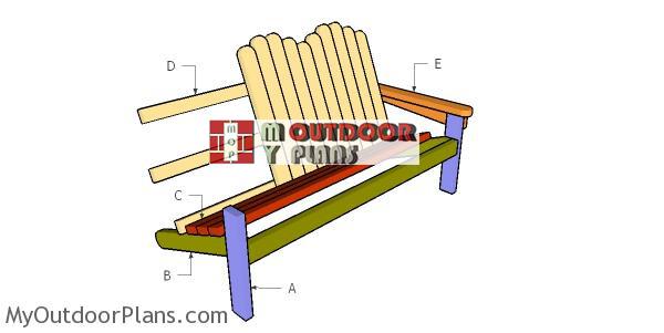 Building-an-adirondack-bench