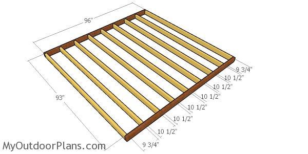 Ground Level Deck Made From 2x4s Plans Myoutdoorplans Free