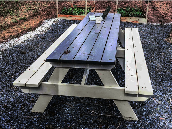 DIY 10 ft Picnic Table