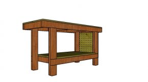 2×4 Simple Workbench Plans