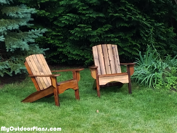 DIY Lawn Adirondack Chair
