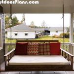 DIY Swing Bed