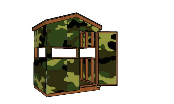 Deer Blind Plans - Free PDF Download