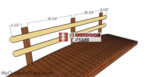 Fitting-the-rails---garden-bridge