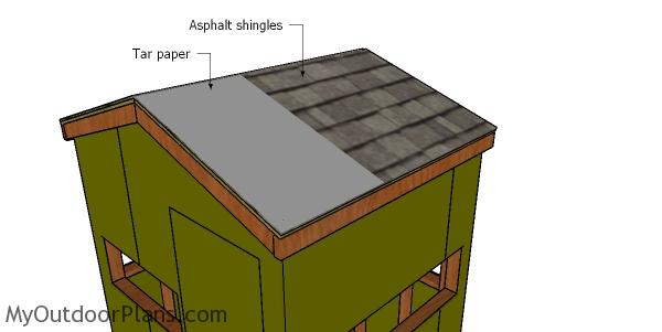 5x6 Deer Blind Roof Plans Myoutdoorplans Free