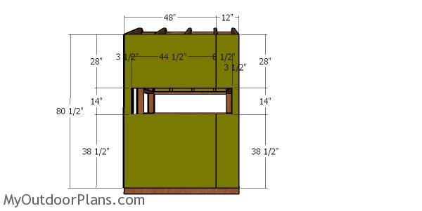 5x6 Deer Blind Roof Plans Myoutdoorplans Free