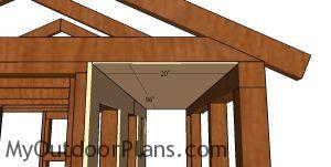 Fitting the soffit