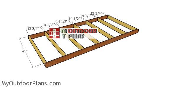 Floor-frame-2x4-shed