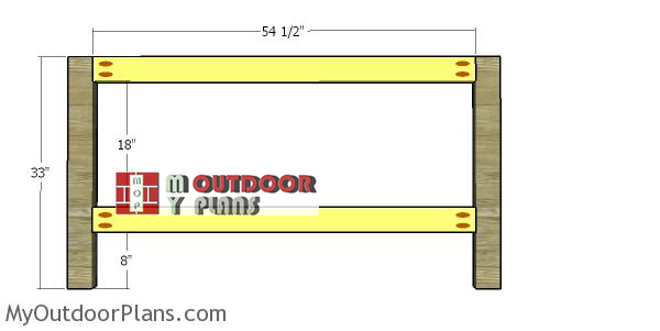 Headboard-frame---2x4-frame