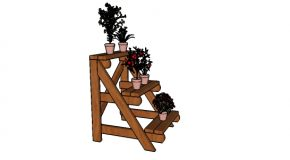 2×4 Plant Stand Plans