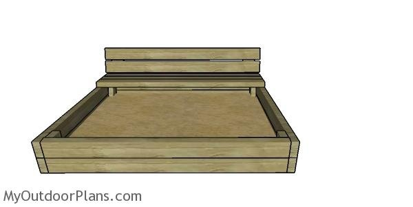 How to build a 2x4 sandbox