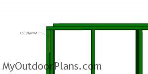 Plywood blockings