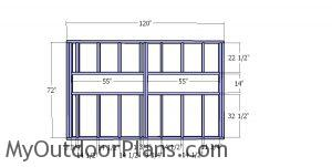 Side wall frames