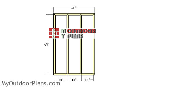 Side-wall-frames---2x4-wood-shed