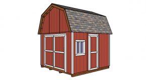12×12 Gambrel Shed Plans – Free DIY Download