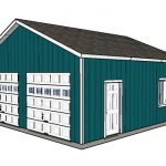 24×24 Double Garage Plans