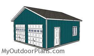 24x24 Garage Plans