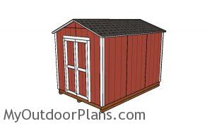 8x12 Cheap Shed Plans