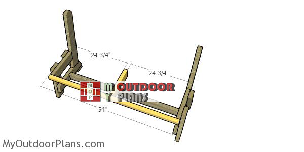 Assembling-the-seat-frame