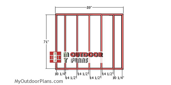 Back-wall-frame-cheap-shed