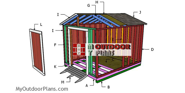 Building-a-8x10-cheap-shed
