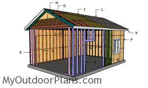 Building a 16x24 detached garage