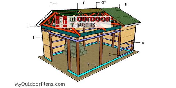 Building-a-16x24-pole-barn