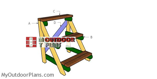 Building-a-2x4-plant-stand