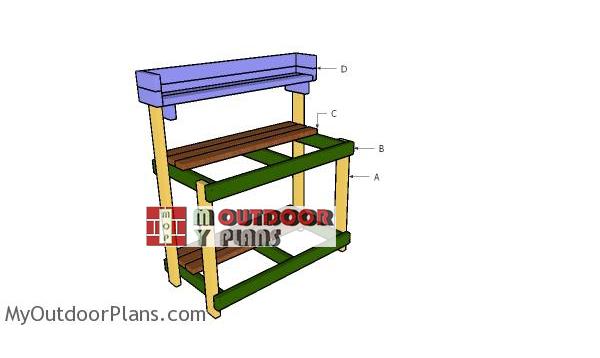 Building-a-2x4-potting-bench