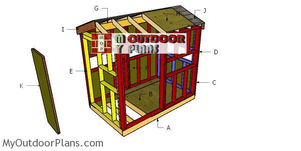 Building-a-5x8-deer-blind