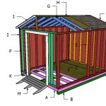 8×10 Cheap Shed Door and Ramp Plans