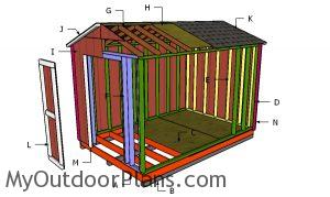 Building a 8x12 simple shed