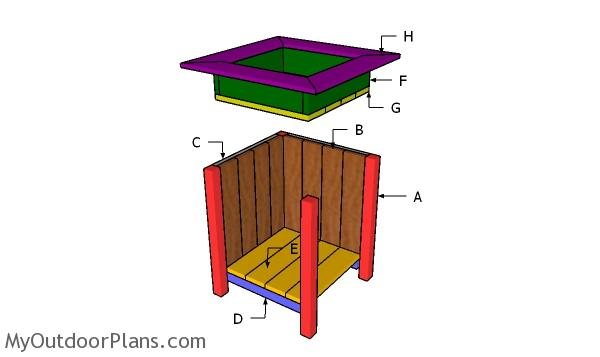 Building a planter box with storage
