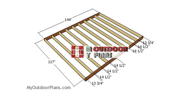 Building-the-floor-frame-10x12