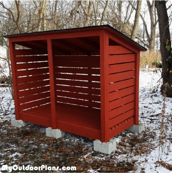 DIY-Firewood-Shed