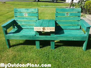 DIY-Large-Double-Chair-Bench-with-Table