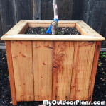 DIY Tree Planter
