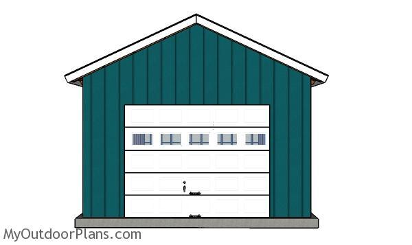 Fitting the garage door