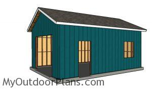 Fitting the siding sheets