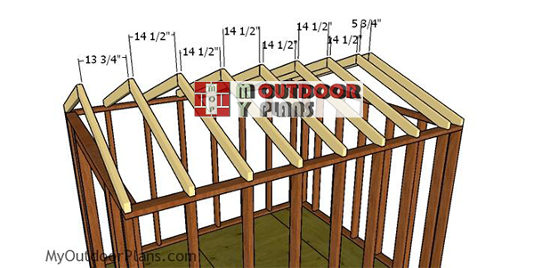 Fitting-the-trusses---8x10-shed
