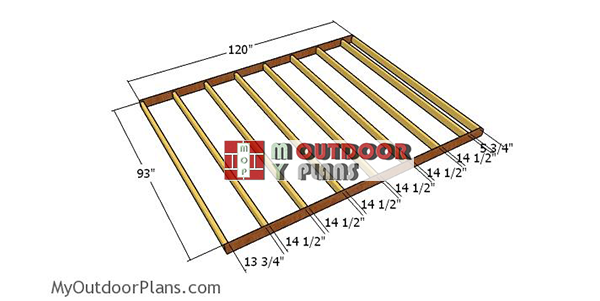 Floor-frame-for-8x10-gable-shed